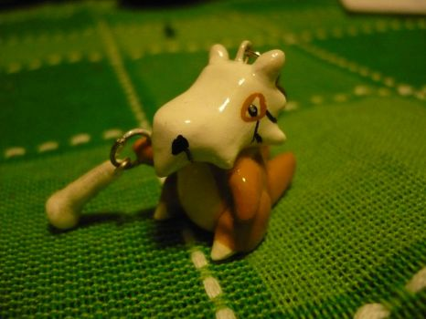 Cubone Charm by chibimemories