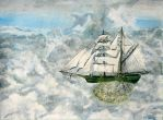 Sailing the Sky by marybethcragg
