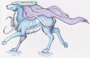 Suicune by KazultheDragon