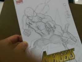 BCC 2010 Spidey sketch by RyanOttley