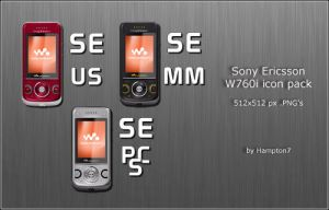Sony Ericsson W760i Icons V2 by Hampton7