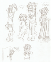Ruby's Wardrobe Sketches by Mister-Saturn