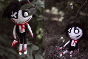 Jeff the Doll by Shel-lD