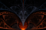 Liquid Stone - Fractal Art by CMWVisualArts