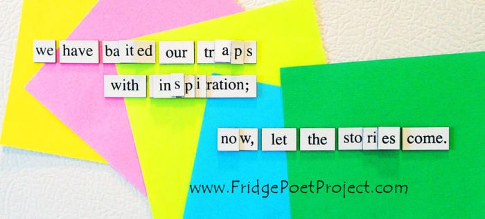 The Daily Magnet #351 by FridgePoetProject