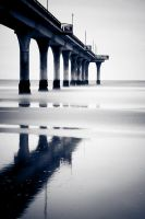 Cold Pier by mark-flammable