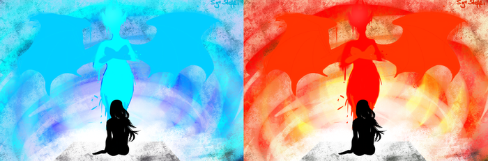 Blue/Red by SgtSteffi
