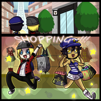 Shopping Spree! by HeartStringsXIII