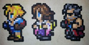 Final Fantasy 10 perler by IAmArkain