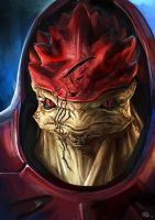 Mass Effect: Wrex Urdnot by OakKs