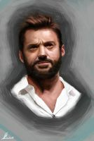 Hugh Jackman by porojj