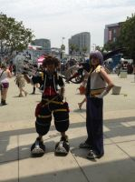 Kingdom Hearts II Sora and Riku Cosplay by YukiSaphira