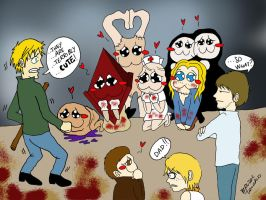 Silent Hill is cute xD by BrutalTomoko