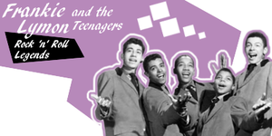 Lymon and the Teenagers sig by Candido1225