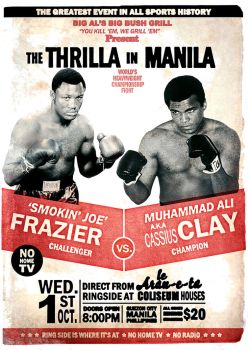 the Thrilla in Manila by juniordesignerer