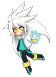 Chibi Silver TH +human+ by SashaVasileva