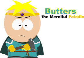 South Park - Butters , the Merciful by abregard