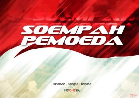 Young Indonesia's Oath by G4L1H