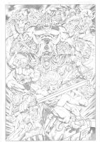 Peter Vale: Thundercats by comiconart