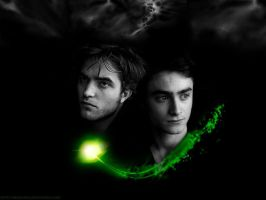 Cedric + Harry Wallpaper by KMeaghan
