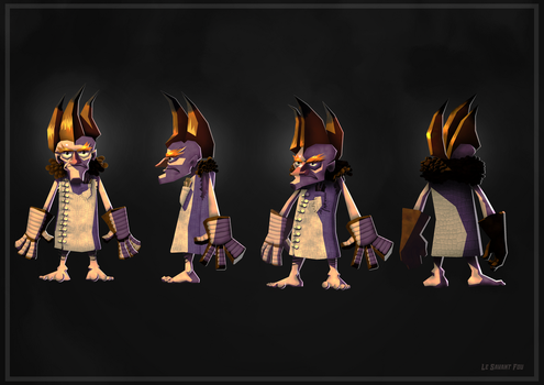 Character Design - Mad Scientist : The Mad Scienti by TheFraggDog