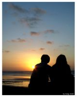 Sunset Romance by ditya