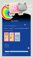 Nyan Cat Skin Version 2 by Metterschlingel