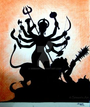 Maa Durga by srimant