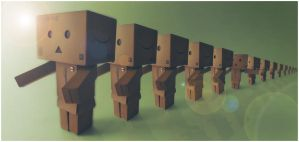 Infinite Danbo by frestro79