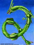 Rayquaza by TheDragonofDoom