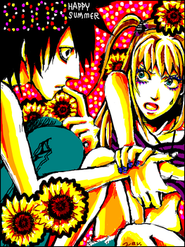 2008Summer LxMisa -Death Note- by 0thefoolnever