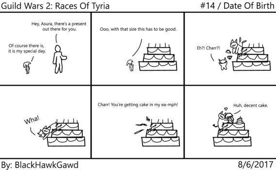 Guild Wars 2: Races of Tyria #14 Date Of Birth by BlackHawkGawd