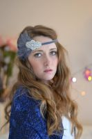 Bohemian elegance hair accessories headband by paradiseshoretwins