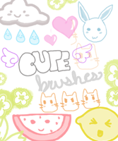 Cute Brushes. by just-a-girl344