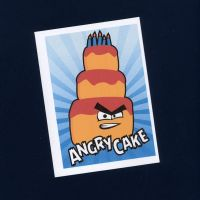 Angry Cake Card by WildeMoon