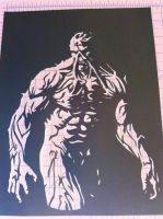 Swamp Thing ITW by Stencils-by-Chase