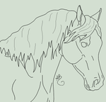 Free Arabian Lineart by dixiedarlin