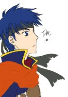 Unfinished Art Trade - Ike FE9 by RoyLover
