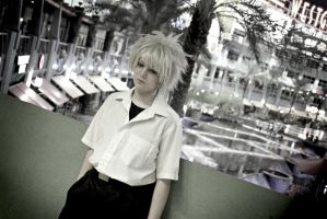 Kaworu Nagisa: 1st and 13th by ValdaValsha
