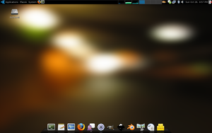 MacBook - Ubuntu Studio 7.10 by lehighost