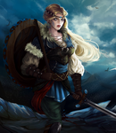 Viking girl by ShuriCat