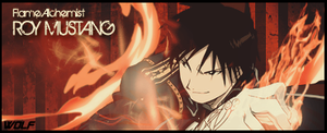 Flame Alchemist: Roy Mustang by x9TheWolf4x