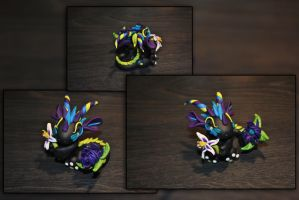 Lilium the Baby Flower Dragon by KirstenBerryCrafts