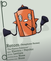New Rotom Telephone Forme by Concore