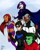 YJ Teen Titans by MegS-ILS