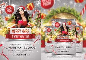 Merry Xmas Party Flyer by angkalimabelas