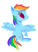 Itty bitty dash by Paintrolleire