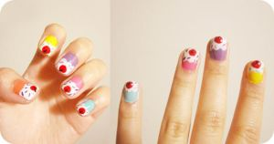 Cupcake Nails by casscc