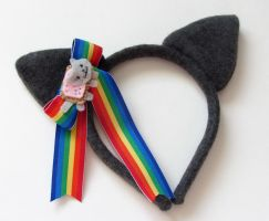 Nyan Cat Headband by jloli