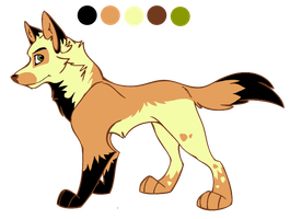 male wolf character adoptable - CLOSED! by StanHoneyThief